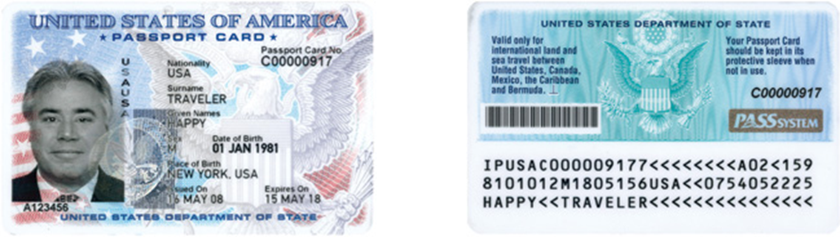 Passport Card Image