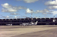 Beira Airport in Mozambique
