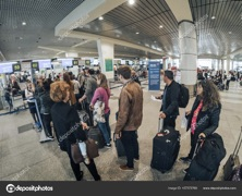 Check-in At Moscow Airport