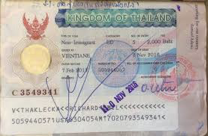 An Example of a Thailand Visa